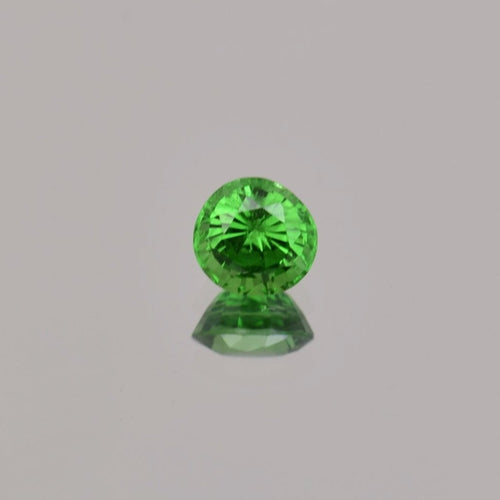 0.73ct Round Green Tsavorite