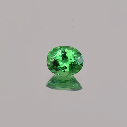 0.8ct Oval Green Tsavorite 6.2x5mm
