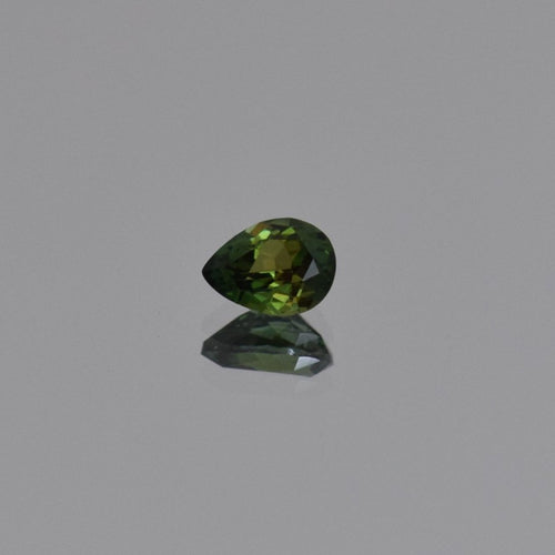 0.85ct Pear Shape Green Tanzanite