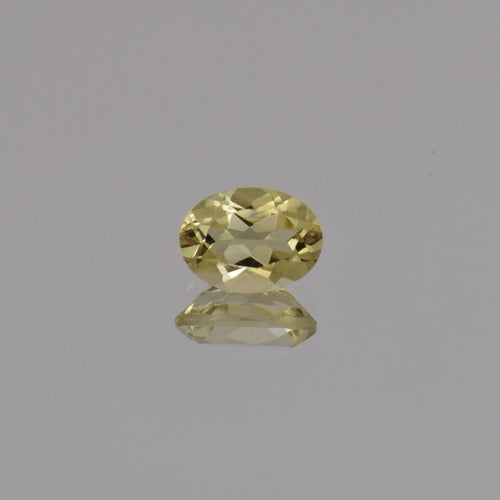 1.13ct Oval Lemon Quartz 8x6mm