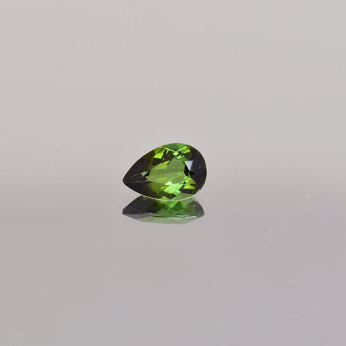 1.23ct Pear Shape Green Tourmaline