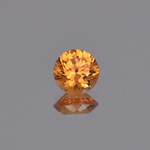 1.67ct Round Orange Spessartite Garnet