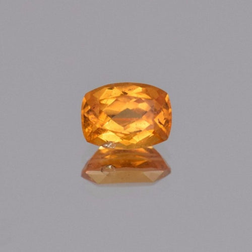 1.88ct Cushion Orange Spessartite Garnet