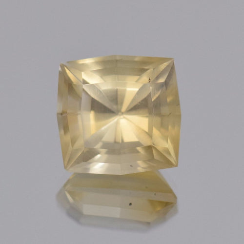 11.90ct Square Radiant Yellow Citrine