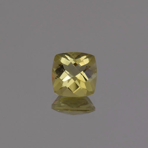 2.00ct Square Cushion Lemon Quartz 8mm