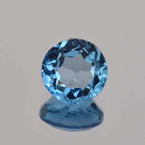 2.05ct Round Blue Topaz 8mm