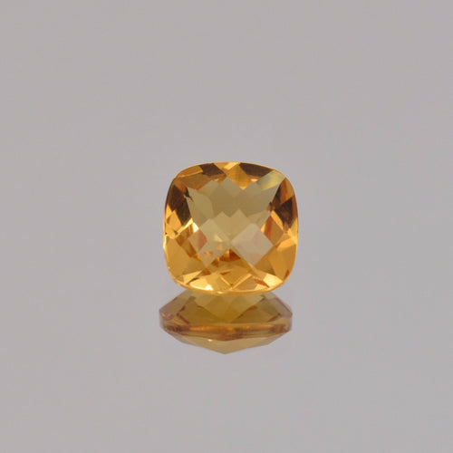 2.07ct Square Cushion Citrine 8mm