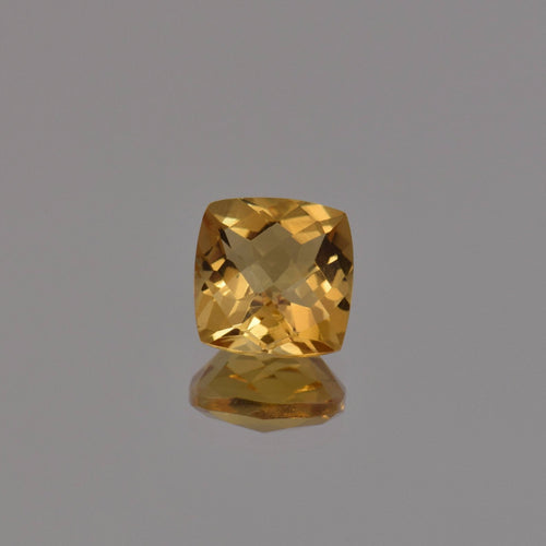 2.09ct Square Cushion Citrine 8mm
