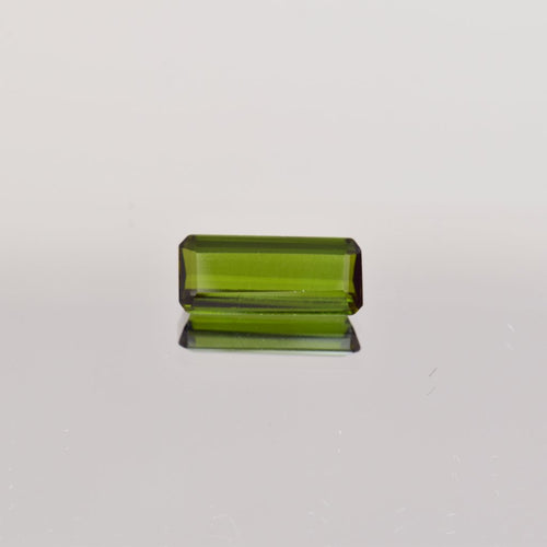 2.11ct Emerald Cut Green Tourmaline