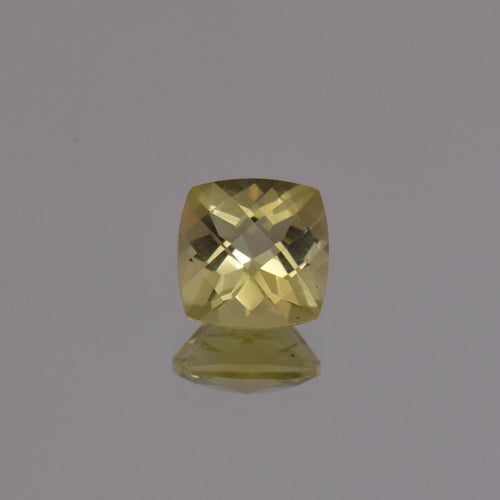 2.13ct Square Cushion Lemon Quartz 8mm