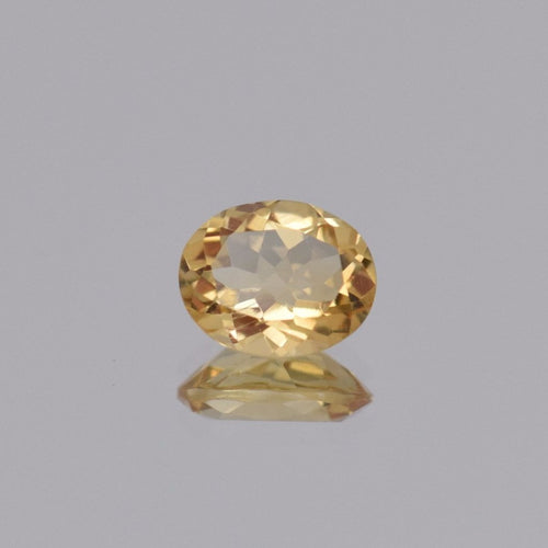 2.18ct Oval Yellow Citrine 10x8mm
