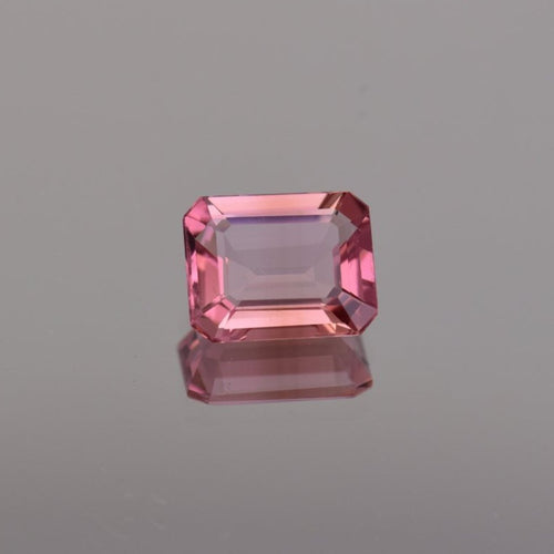 2.23ct Emerald Cut Pink Tourmaline