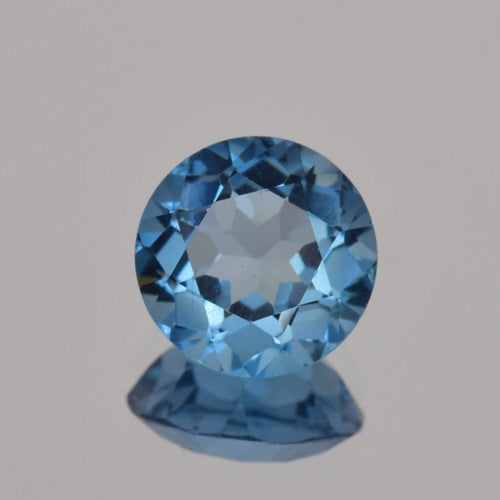 2.24ct Round Blue Topaz 8mm