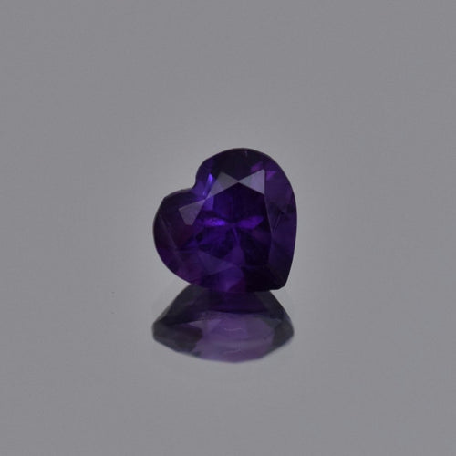 2.31ct Heart Shape Purple Amethyst