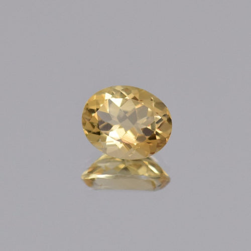 2.42ct Oval Yellow Citrine 10x8mm