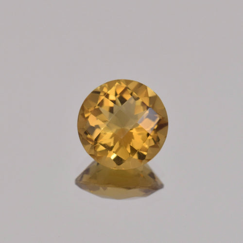 3.04ct Round Whiskey Quartz 10mm