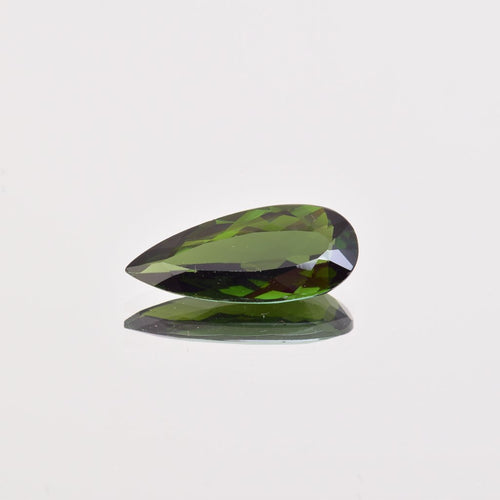 3.25ct Pear Shape Green Tourmaline