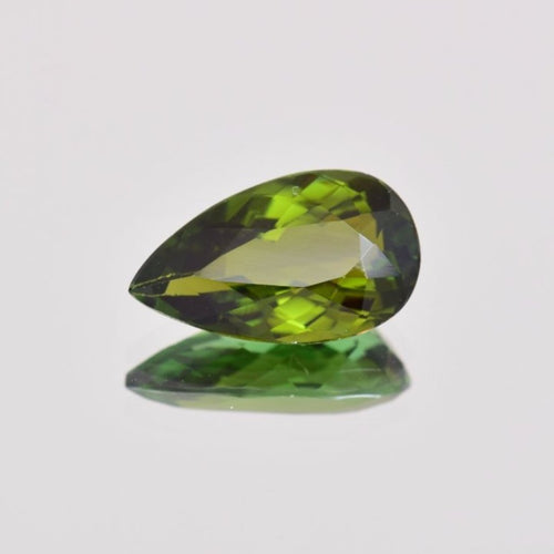 3.41ct Pear Shape Green Tourmaline