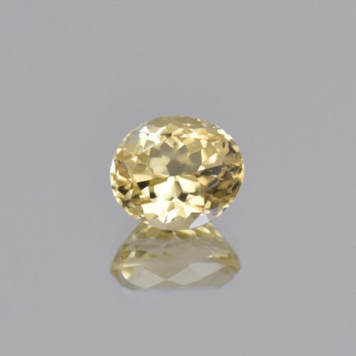 3.58ct Oval Yellow Citrine 10x9mm