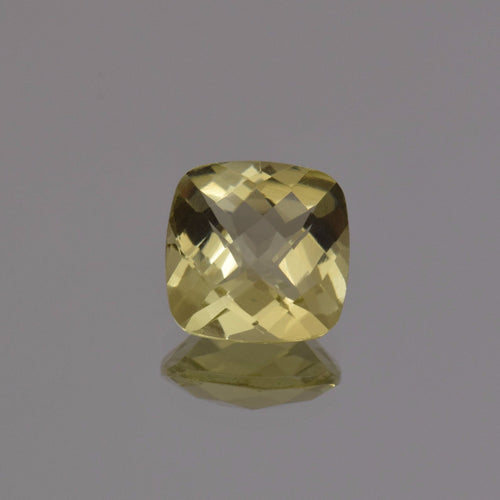 3.58ct Square Cushion Lemon Quartz 10mm