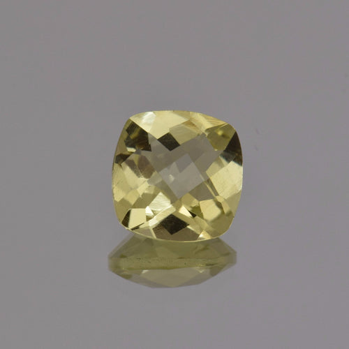 3.68ct Square Cushion Lemon Quartz 10mm