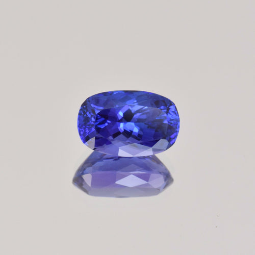 4.55ct Cushion Tanzanite