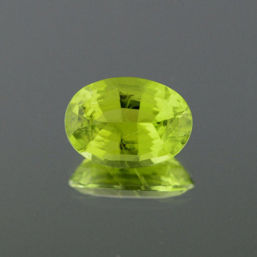 5.78ct Oval Yellow-Green Canary Tourmaline