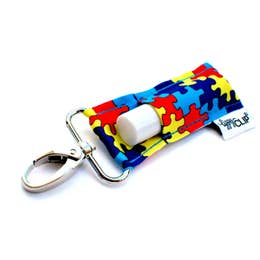 Autism Awareness Lippy Clip