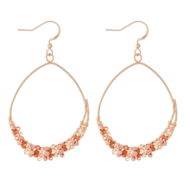 Pink Ice  Earrings