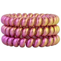 Hotline Hair Ties-Pink Lemonade Color Changing