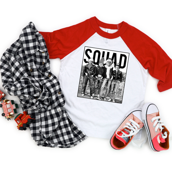 Christmas SQUAD Toddler & Youth Raglan