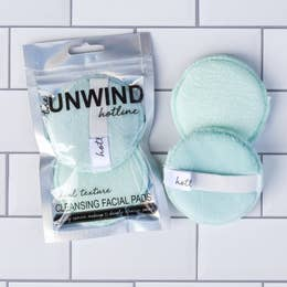 The Unwind- Hotline Cleansing Facial Pads- 2 Pack