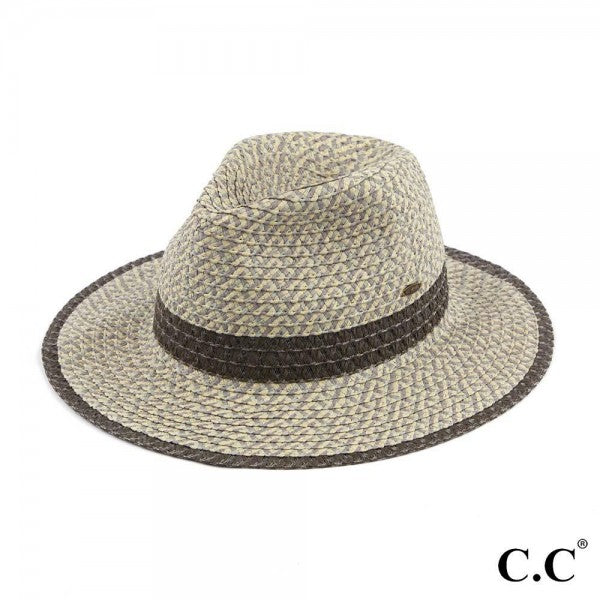 Panama Hat- Heather Grey