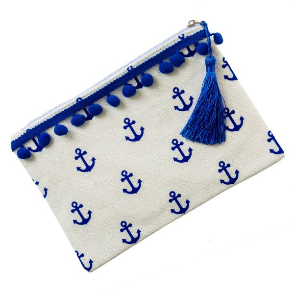 Anchor Canvas Pouch