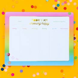 Happy Weekly Notepads