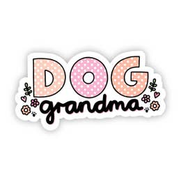 Dog Grandma Sticker