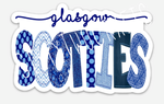 Glasgow Scotties Waterproof Decal