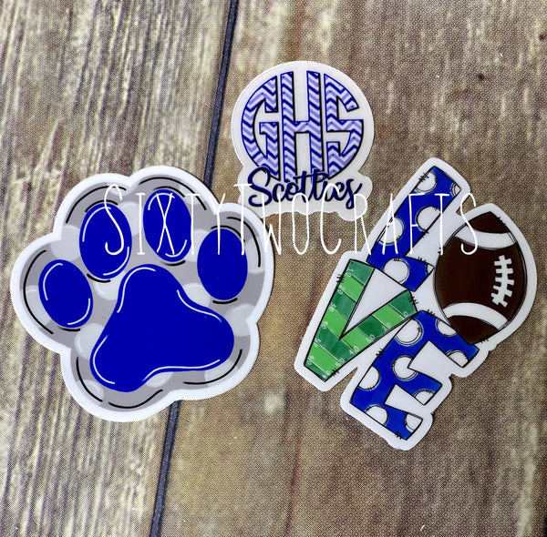 Scottie Love  Decal- 3 Pack