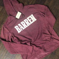 Barren Soft Hooded Sweatshirt