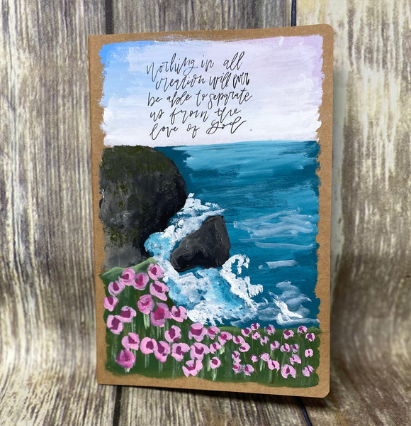 Love of God Hand Painted Journal