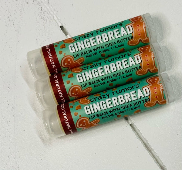 Gingerbread Shea Butter Lip Balm