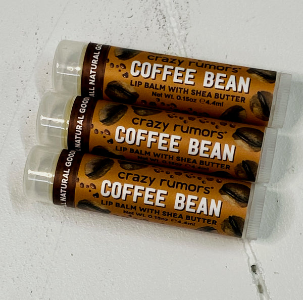 Coffee Bean Shea Butter Lip Balm