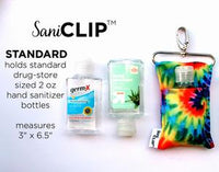 Leopard SaniClip Hand Sanitizer Holder