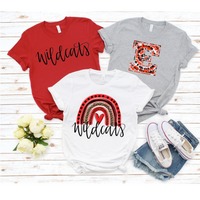 Eastern Wildcats HL Tees (Youth & Adult)
