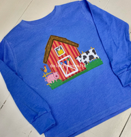 Barn Buddies Long Sleeve Toddler Tee
