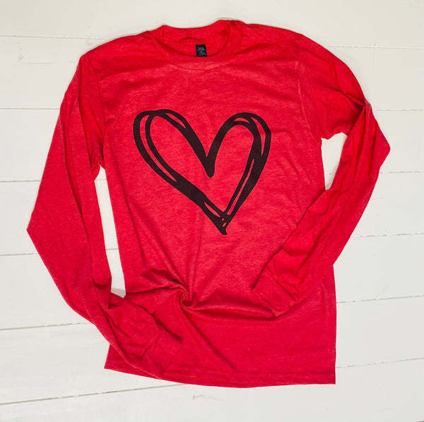 Loopy Love Long Sleeve Tee