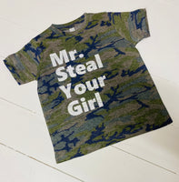 Mr Steal Your Man Toddler/Youth Tee