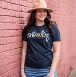Kentucky Cowhide Tee