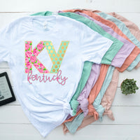 KY Lily Tee- White