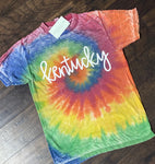 Kentucky Soft Multi Tie Dye Tee